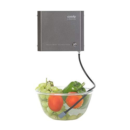 OZODIP 2SD Mini-Ozongenerator, Sterilisator, Ozon-Luftreiniger, zur Beseitigung von Gerüchen und Pestiziden im Haushalt, Reinigung von Gemüse, Obst, Fleisch, Fisch