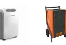 Unterschied Bautrockner Entfeuchter - Raumluftentfeuchter - Luftentfeuchter
